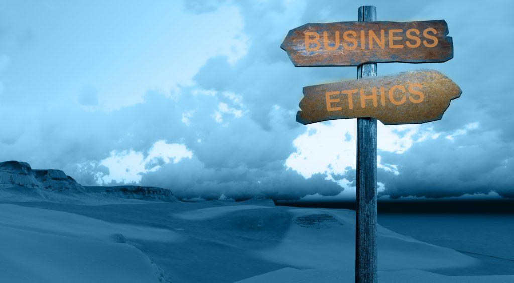 ética frente a dinero